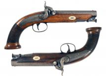 A Crisp Pair of Percussion Pistols