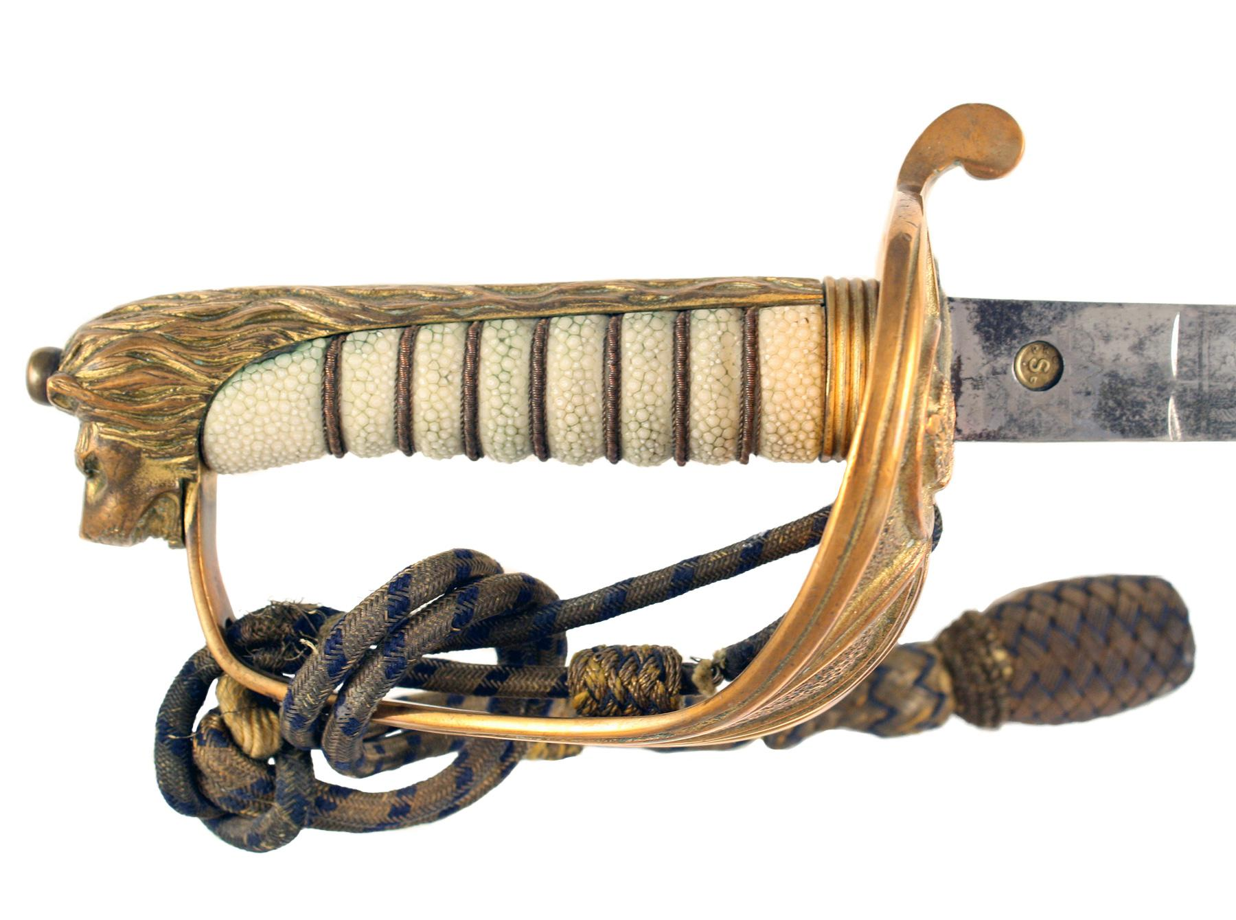 A Naval Officers Sword to R.W. Kego