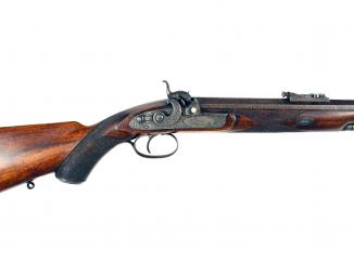 A Percussion Rifle by Alex Henry No. 521