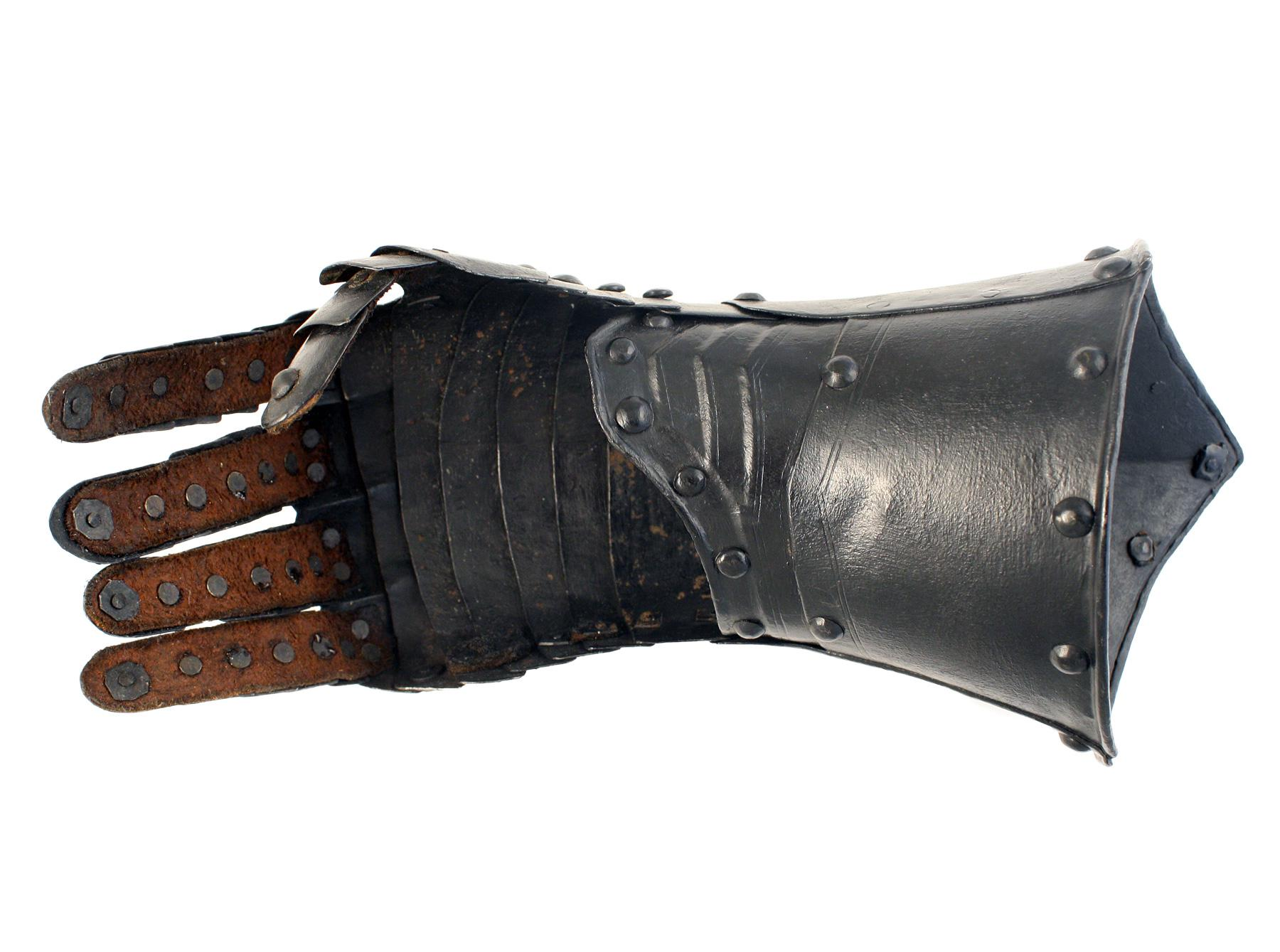 An Incredible Pair of Cromwellian Gauntlets