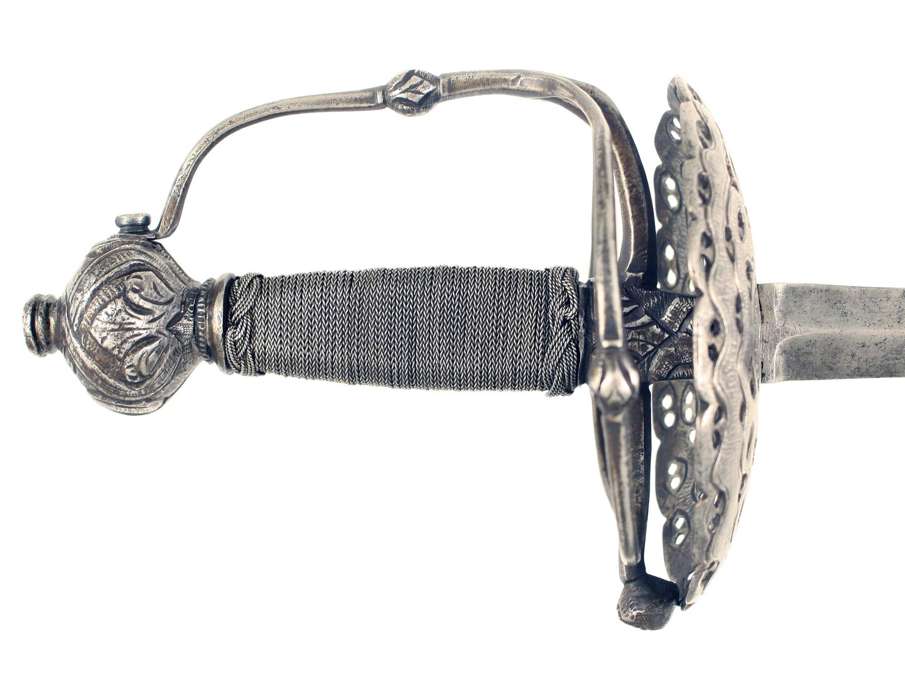 An English Dish Hilt Rapier