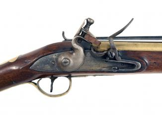 A Flintlock Blunderbuss by J & W Richards