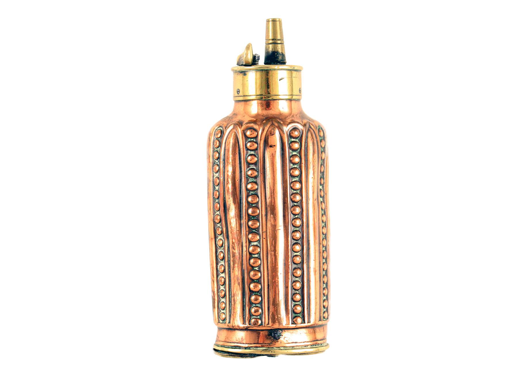 A Fluted Three-Way Flask