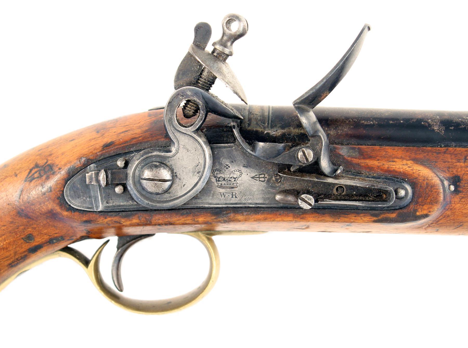 A William IV Flintlock Pistol