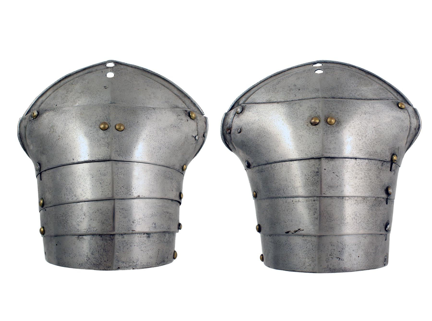 A Pair of Spaulder, 16th Century.