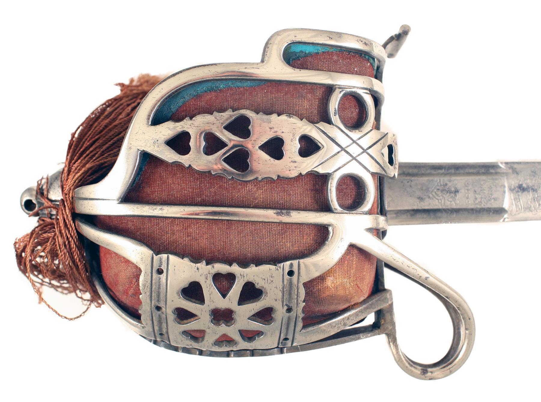 A Basket Hilted Sword