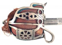 A Basket Hilted Sword
