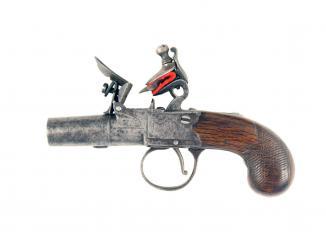 A Very Small Flintlock Pocket Pistol