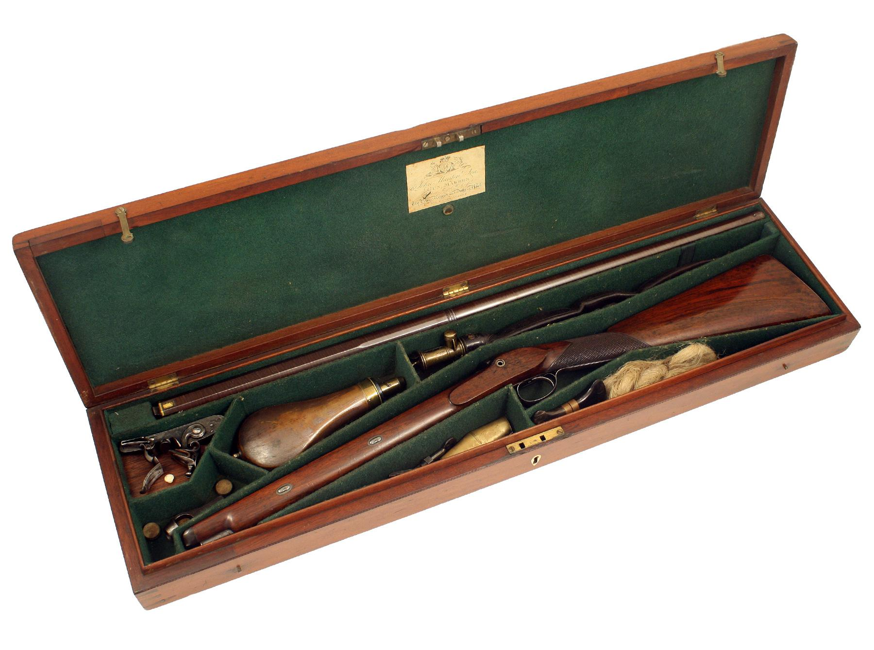 A Cased J.Manton Sporting Gun
