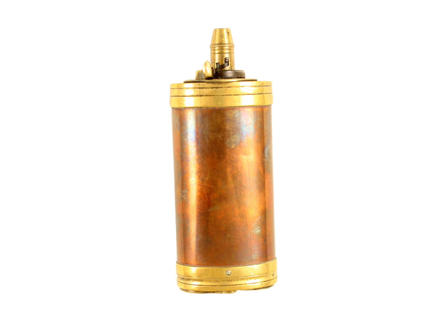 A Three-Way Pistol Flask by Dixon & Sons