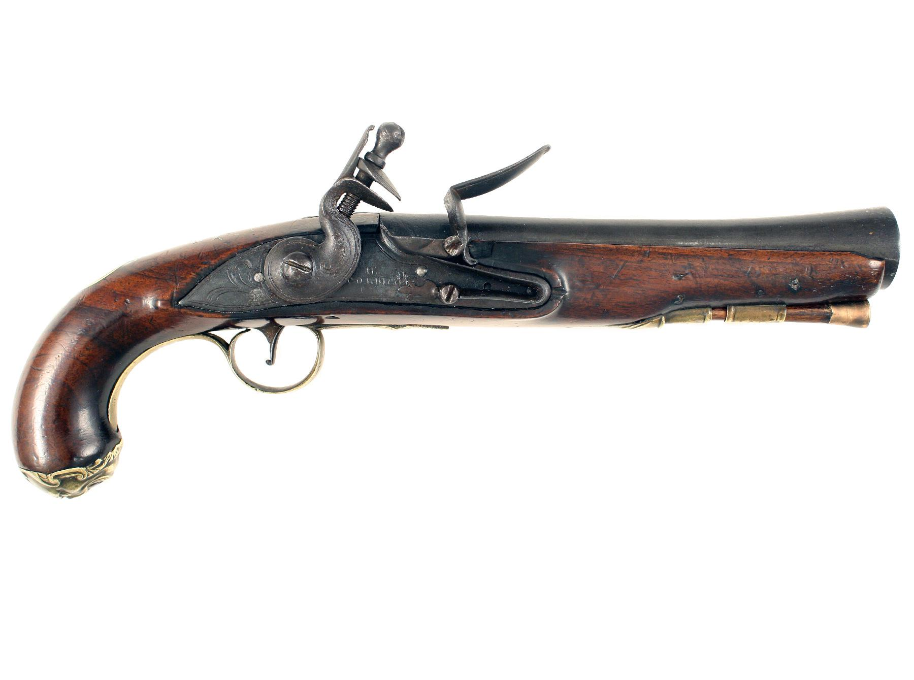 A Blunderbuss Pistol by Collicott of Bristol