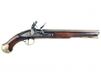 A Superb Flintlock Sea Service Pistol