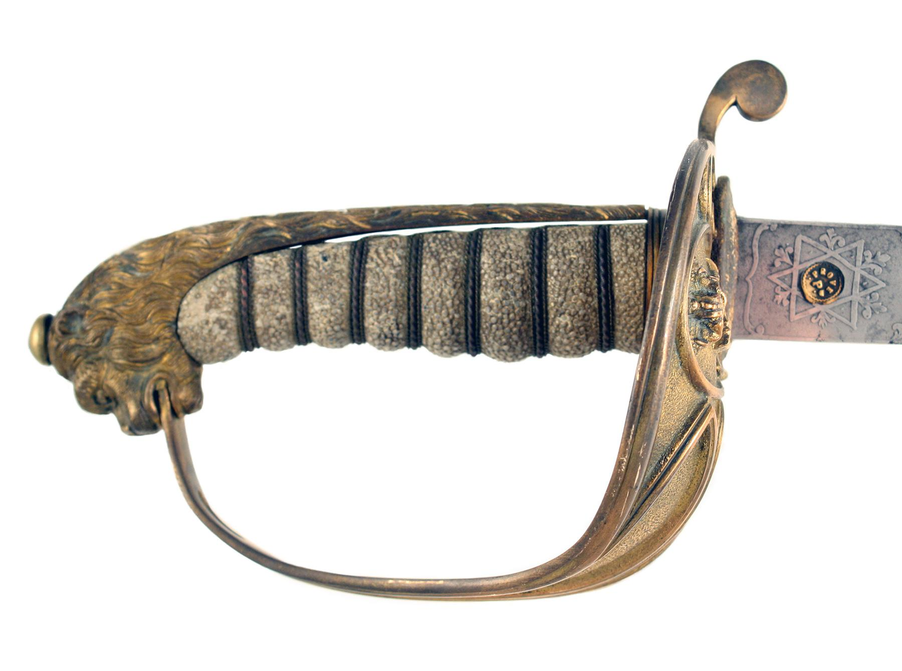 A Customs Officers Presentation Sword