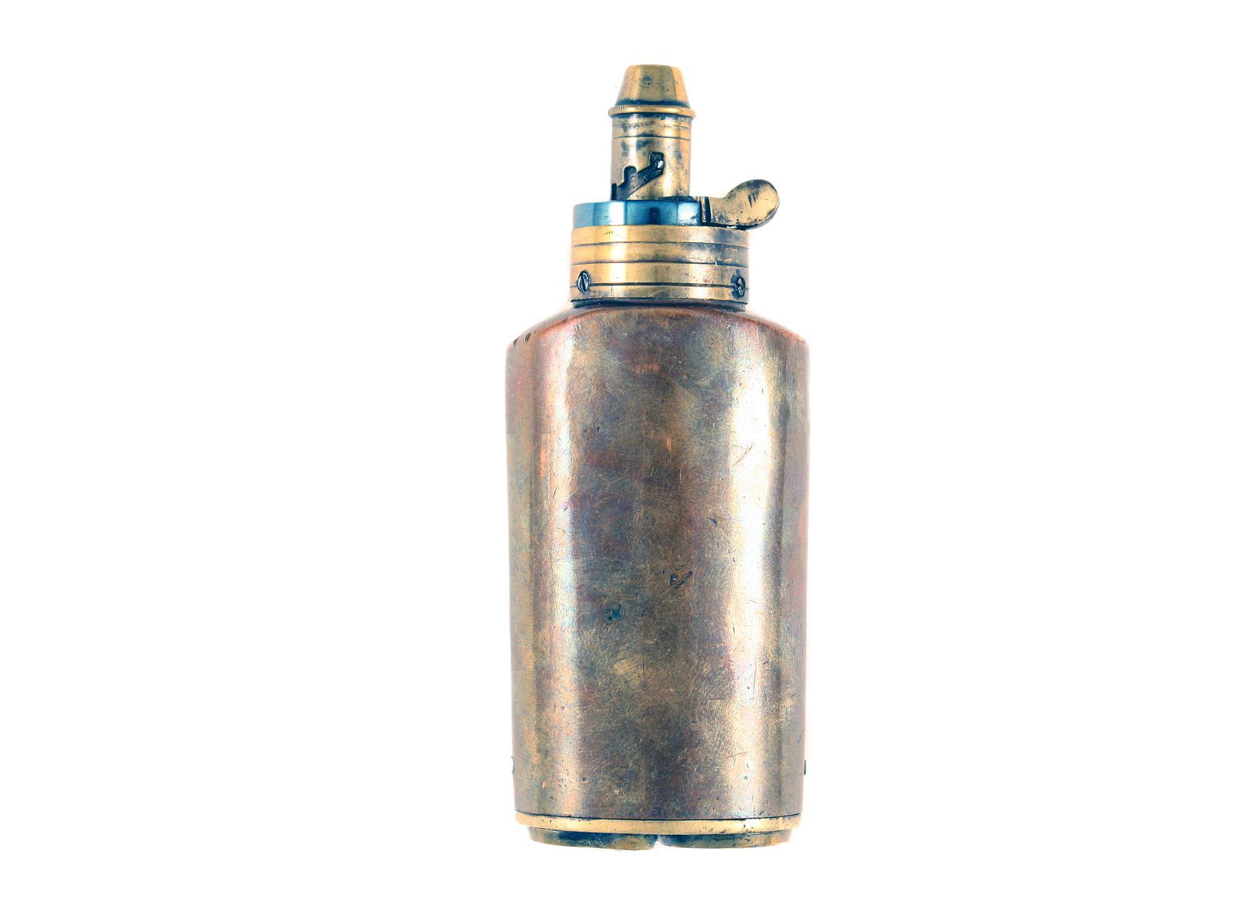 A Plain Three Way Flask