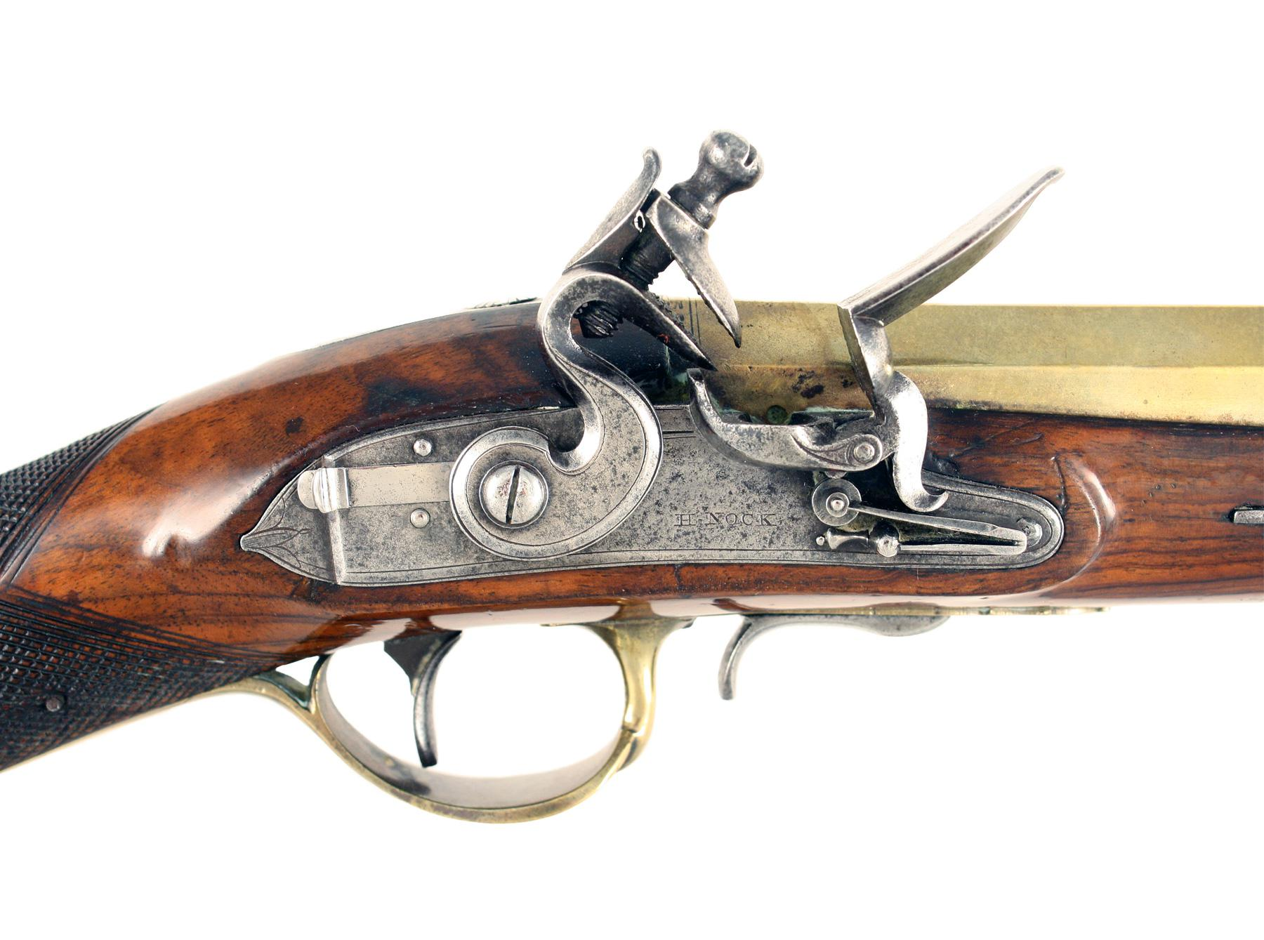 A Flintlock Blunderbuss by H. Nock