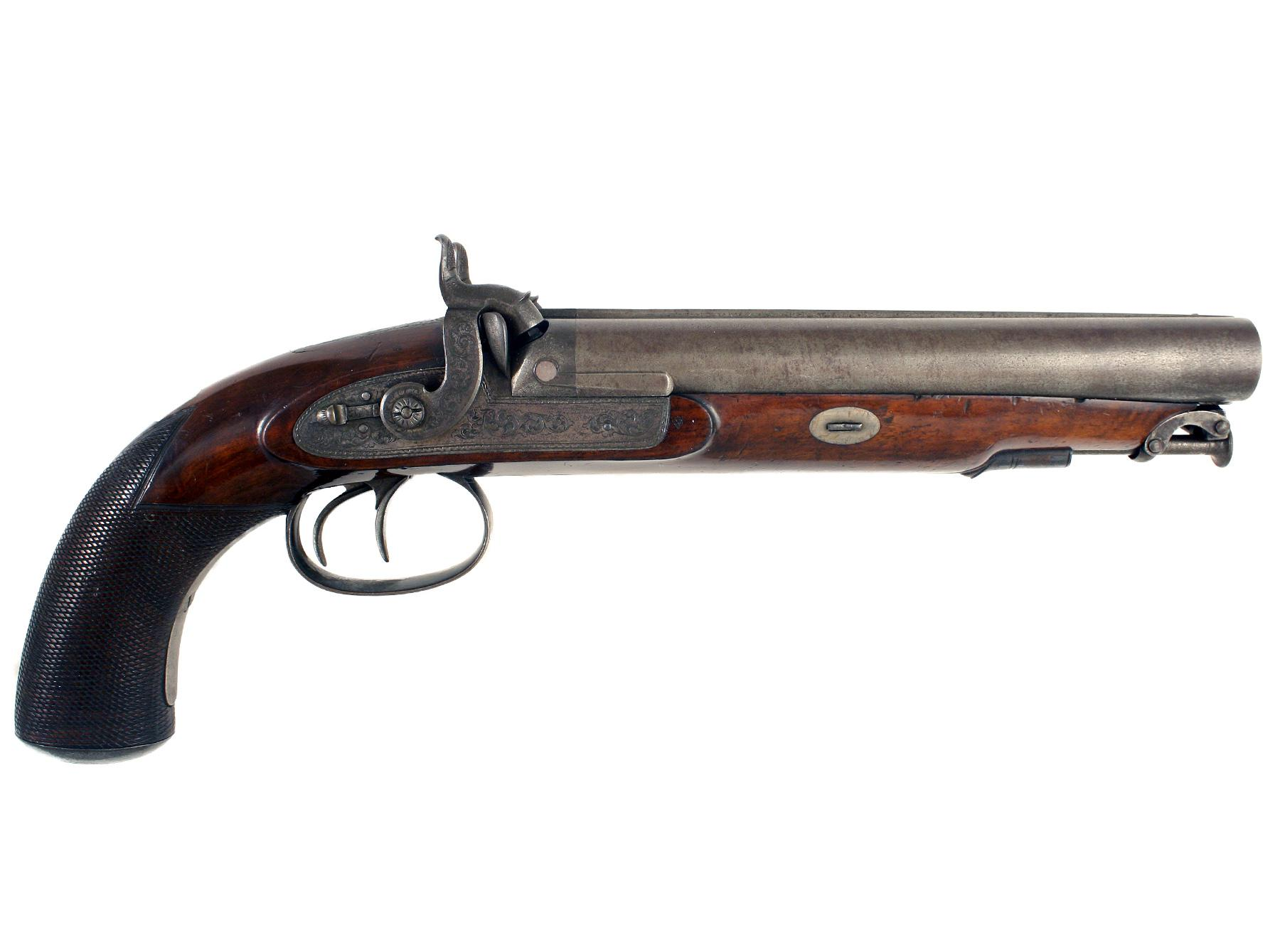 A Rifled Howdah Pistol