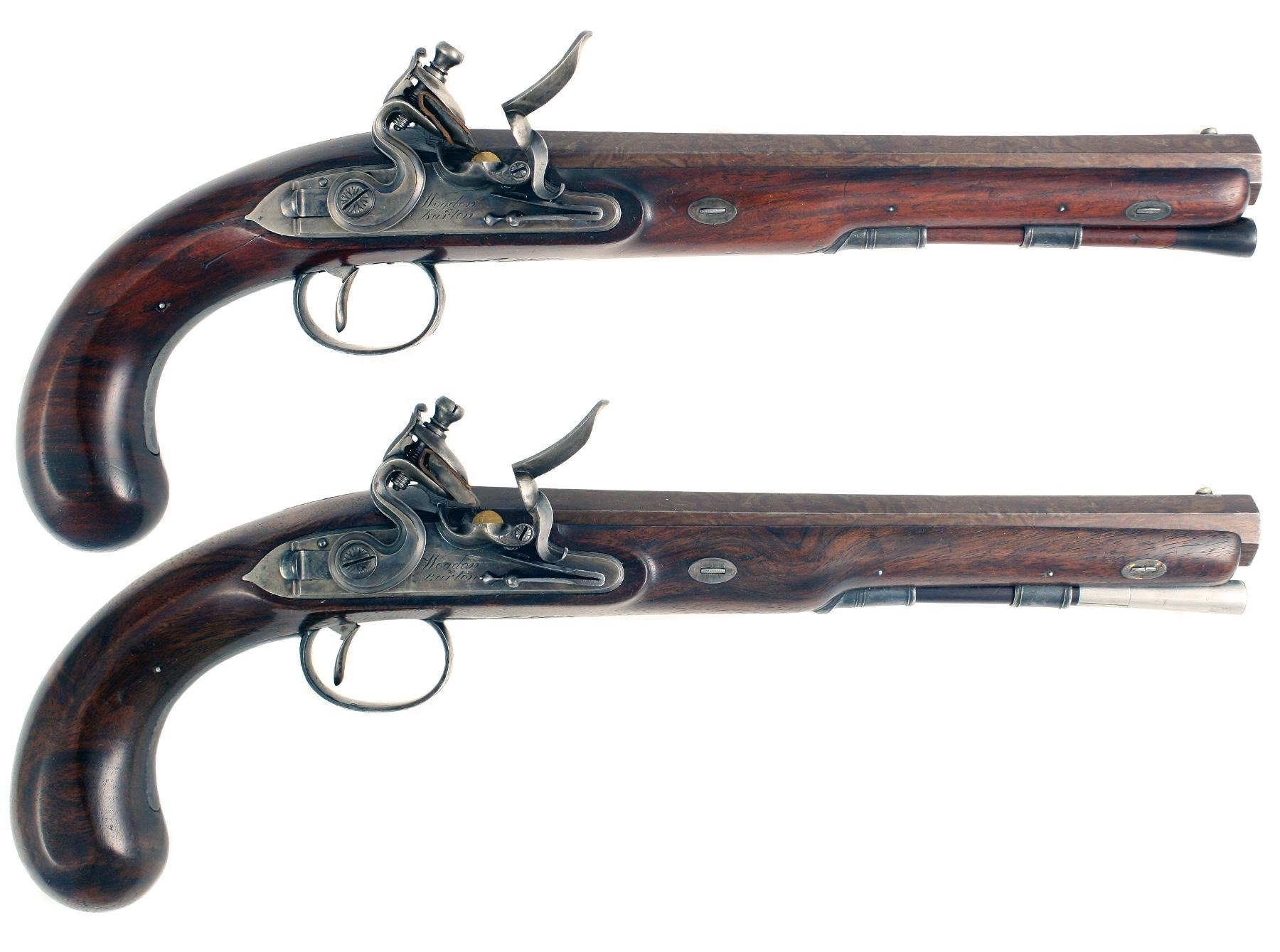 A Superb Cased Pair of Duellers