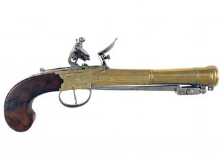 A Superb Pair of Blunderbuss Pistols