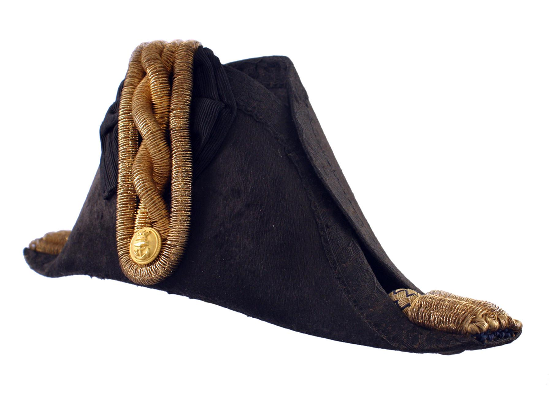 A Naval Officers Bicorn Hat