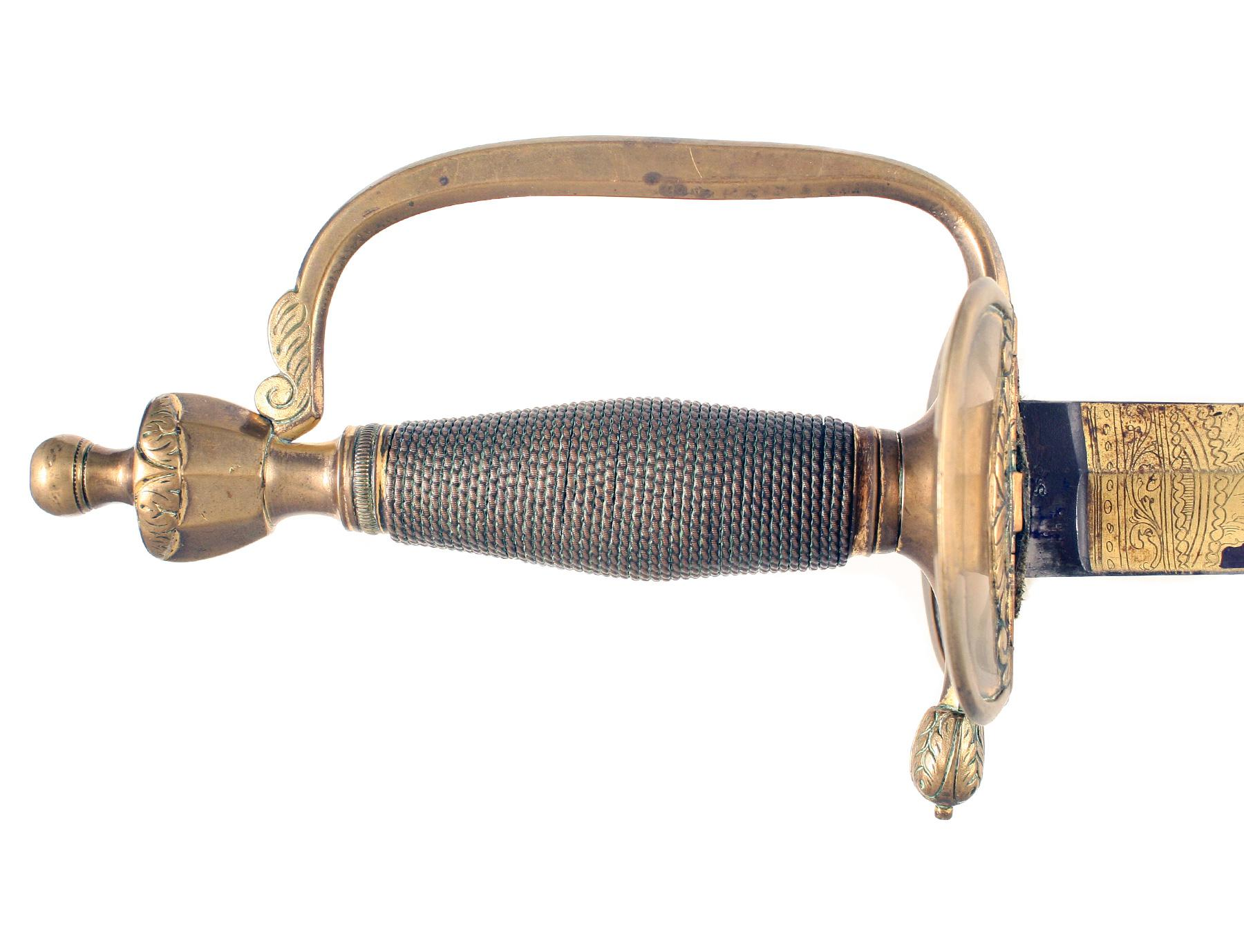 An Outstanding 1796 Infantry Officers Sword