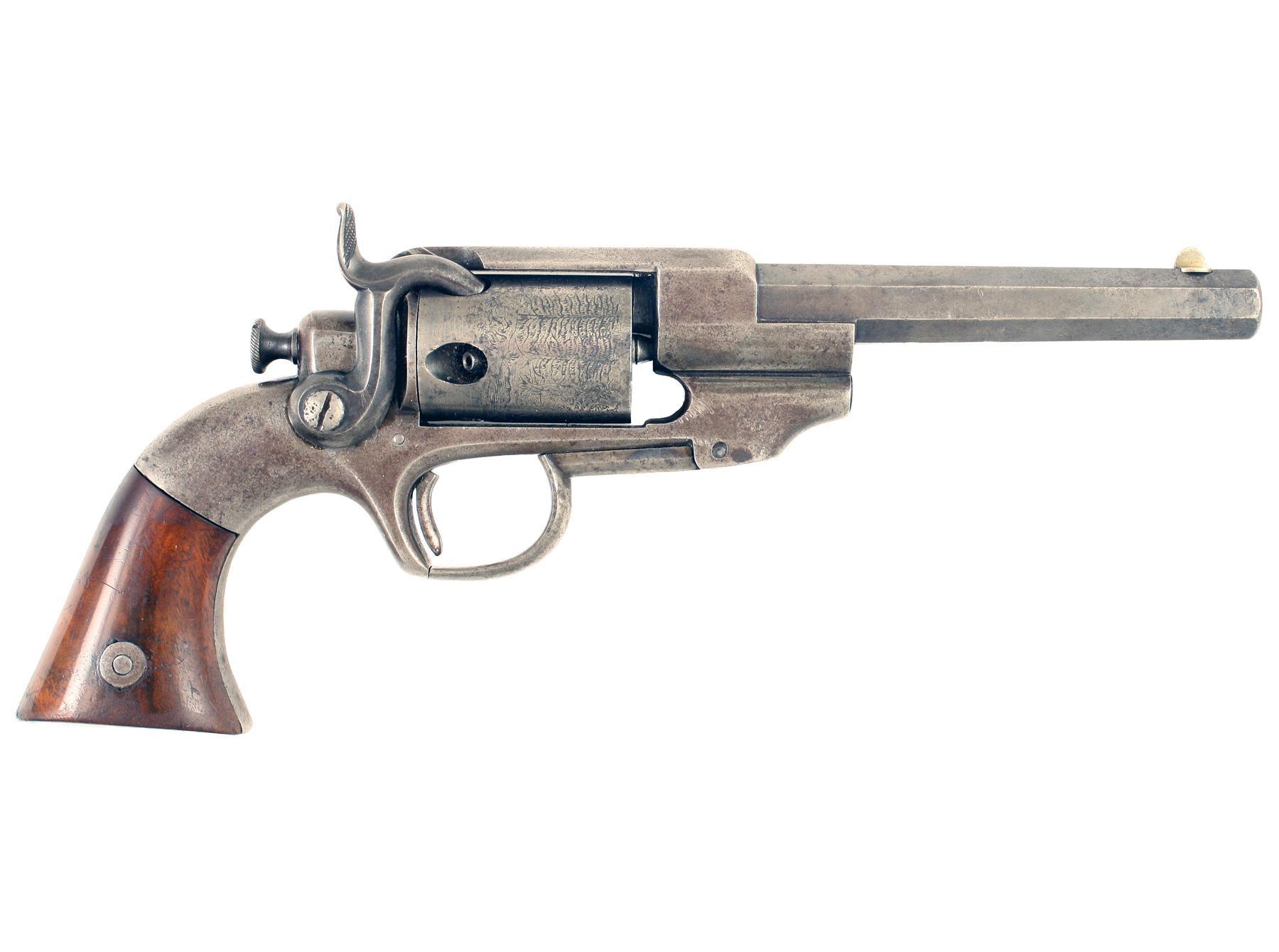 A Rare Allen & Wheelock Revolver