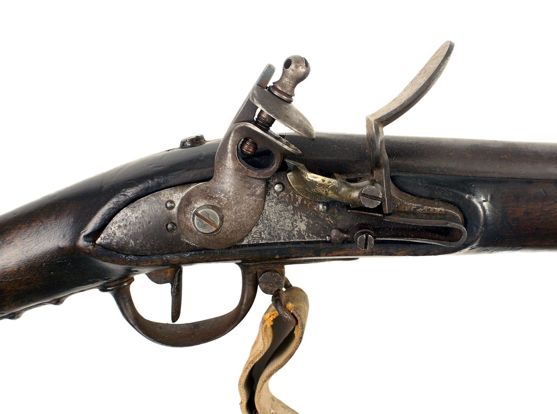 A Scarce Dutch 1815 Musket