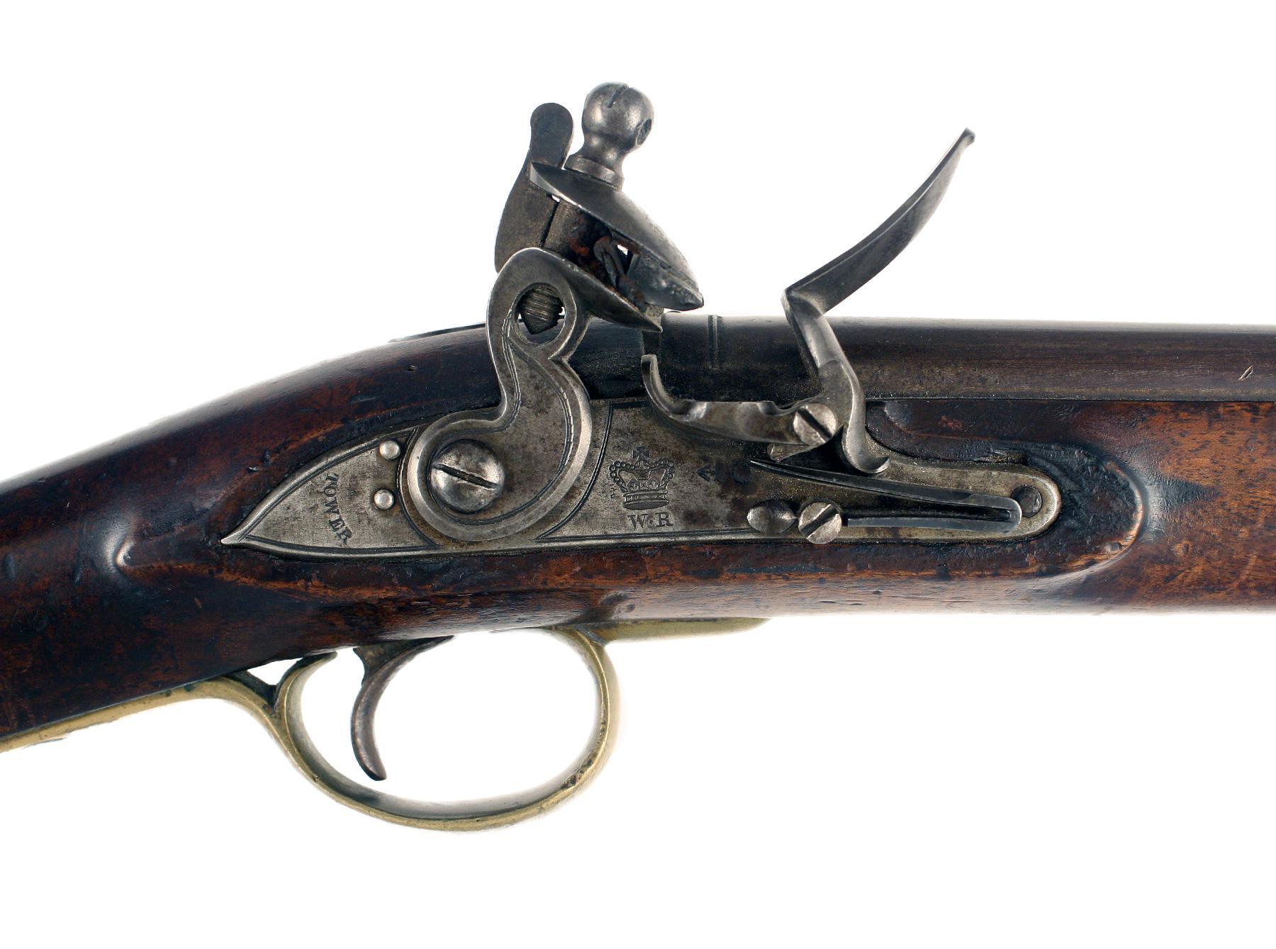 A Flintlock Paget Carbine