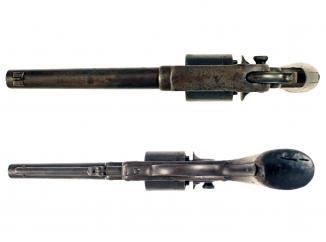 A 1858 Model Starr Army Revolver