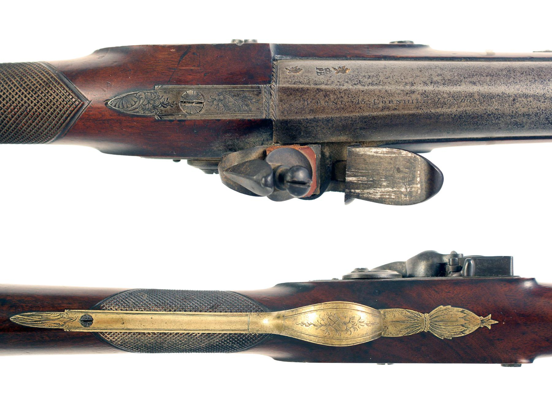 A Sleepy Flintlock Blunderbuss by P. Bond
