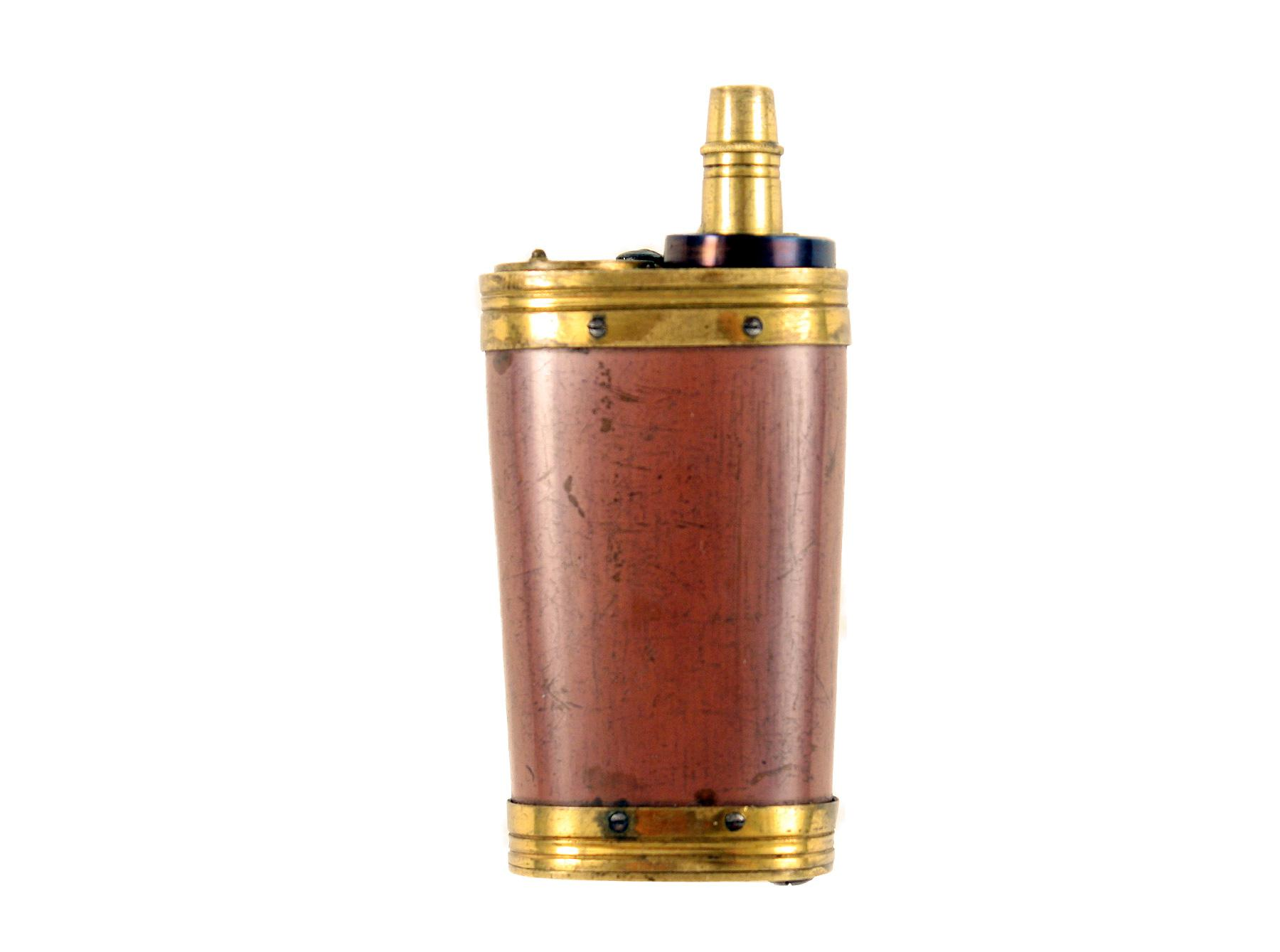 A Superb Dixon & Son Three-Way Flask