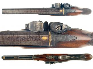 A Flintlock Duelling Pistol for Restoration