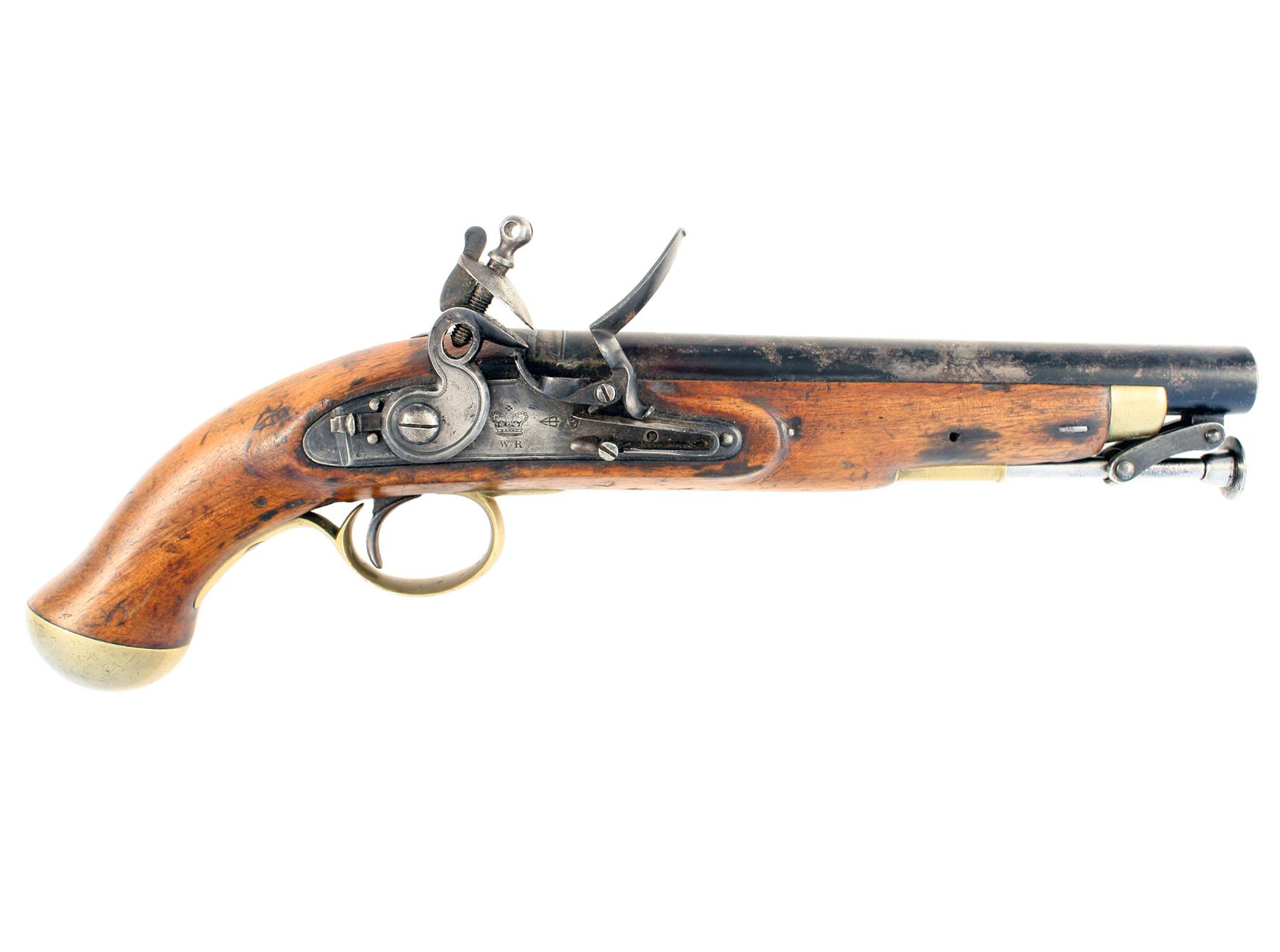 A William IV Flintlock Pistol