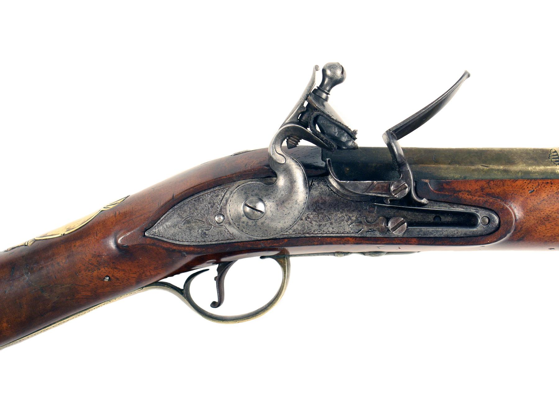 A Sleepy Flintlock Blunderbuss by Stanton