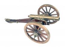 A Model Of A '68 Pounder' Siege Gun