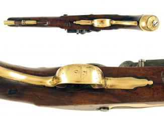 A Regimentally Marked Flintlock Light Dragoon