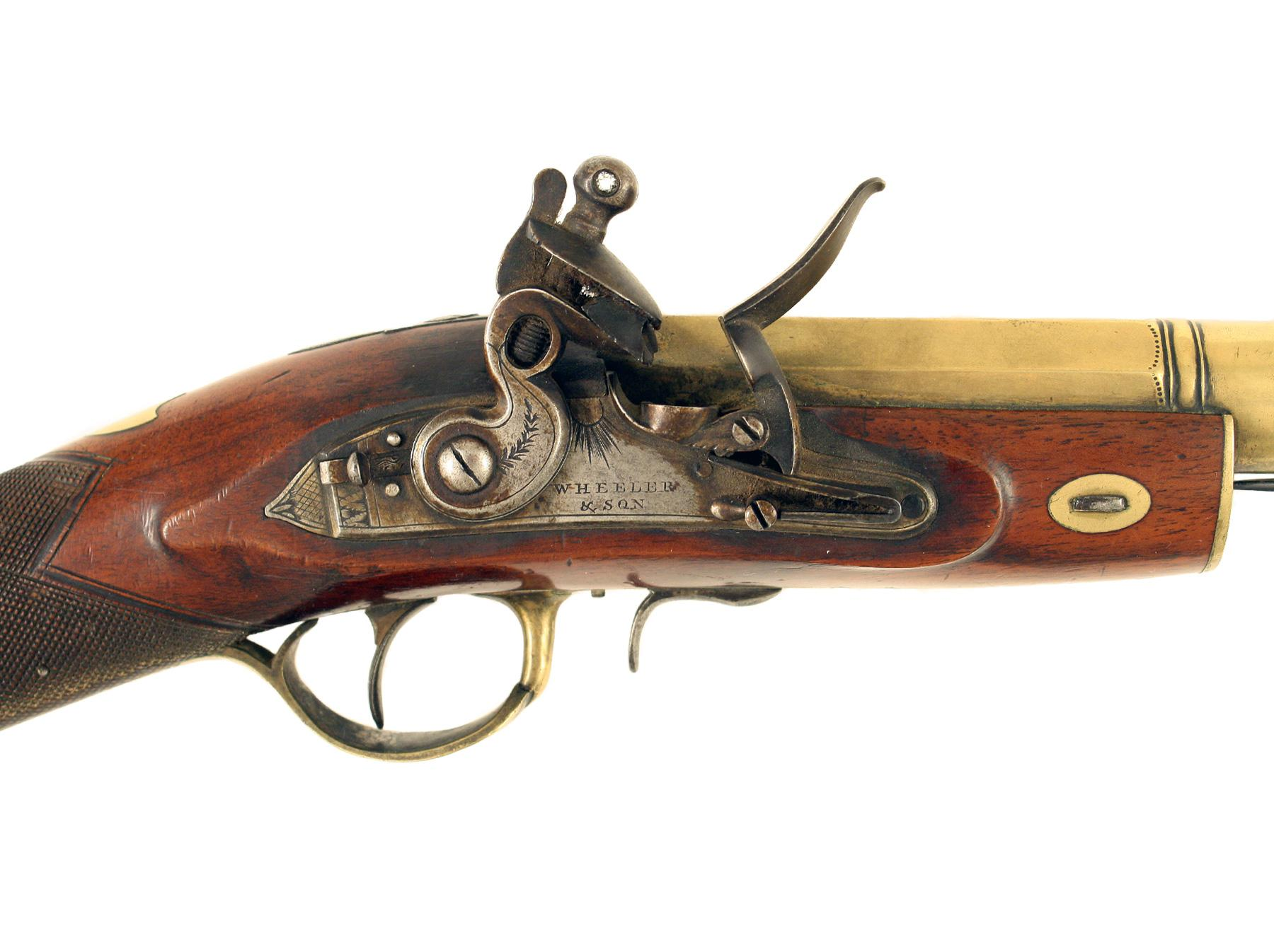 A Flintlock Blunderbuss by Wheeler & Son
