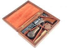 "A Cased 4"" Colt Pocket Revolver, No: 100768"