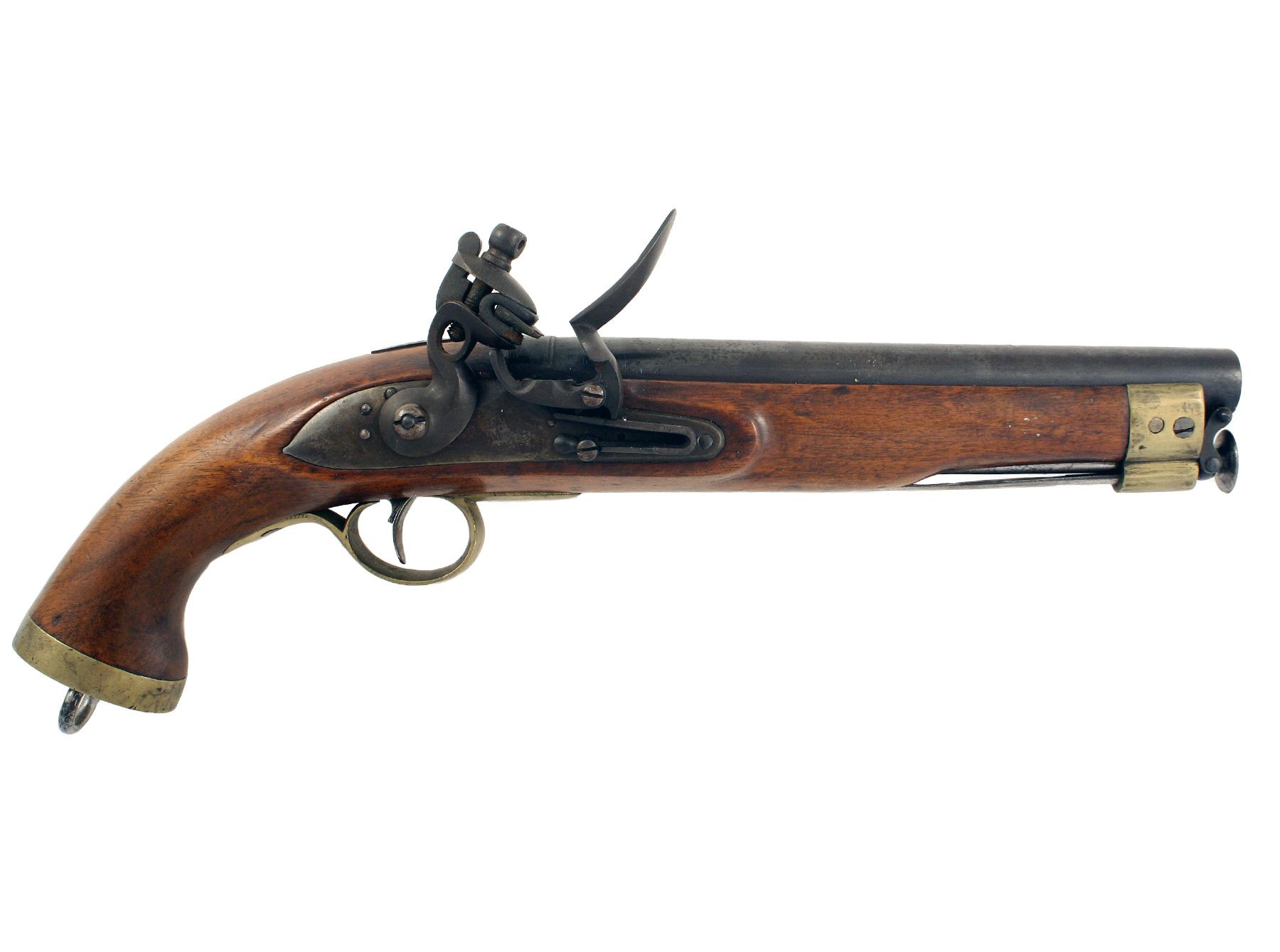 A Crisp E.I.C. Flintlock Cavalry Pistol