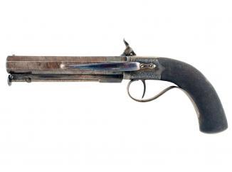 A Crisp Pair of Belt Pistols by Mills of London.
