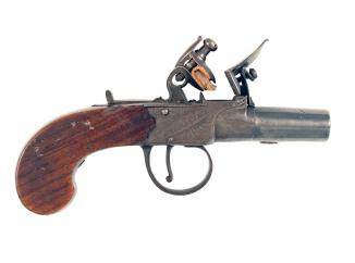 A Pocket Pistol by Conway of Manchester