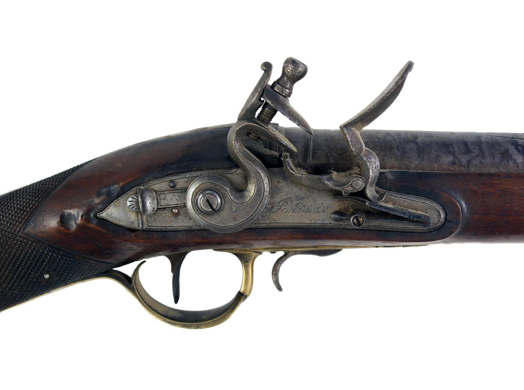 A Steel Barrelled Flintlock Blunderbuss