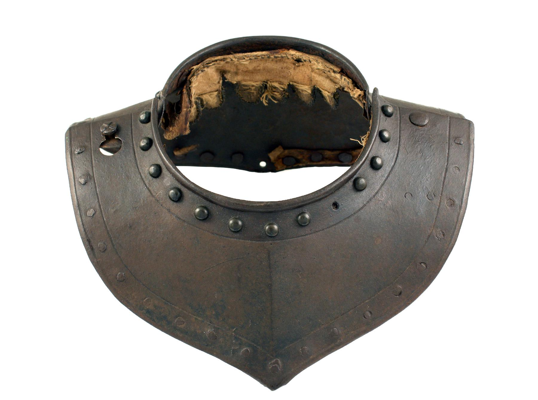 A German Gorget, 17th Century.