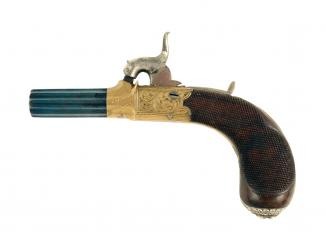 A Fine Percussion Pocket Pistol by Conway