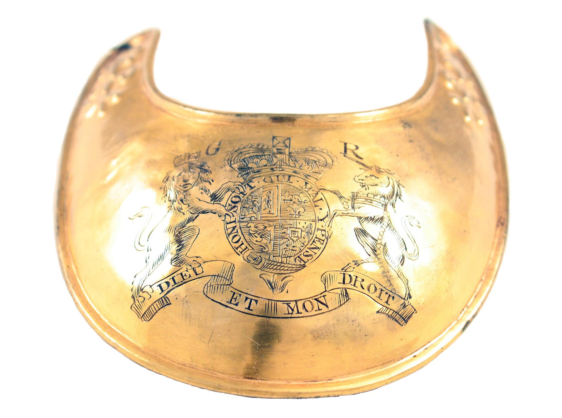 An Officers Gorget