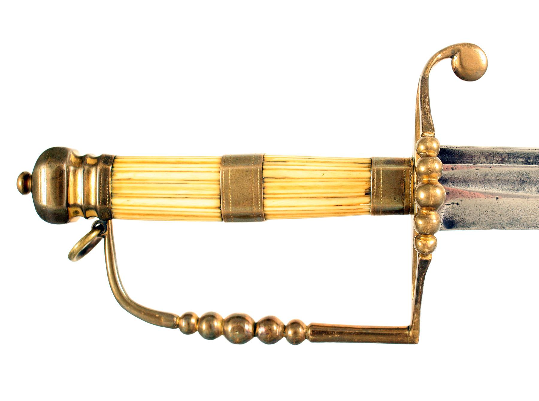 A Naval Spadroon Hilted Sword