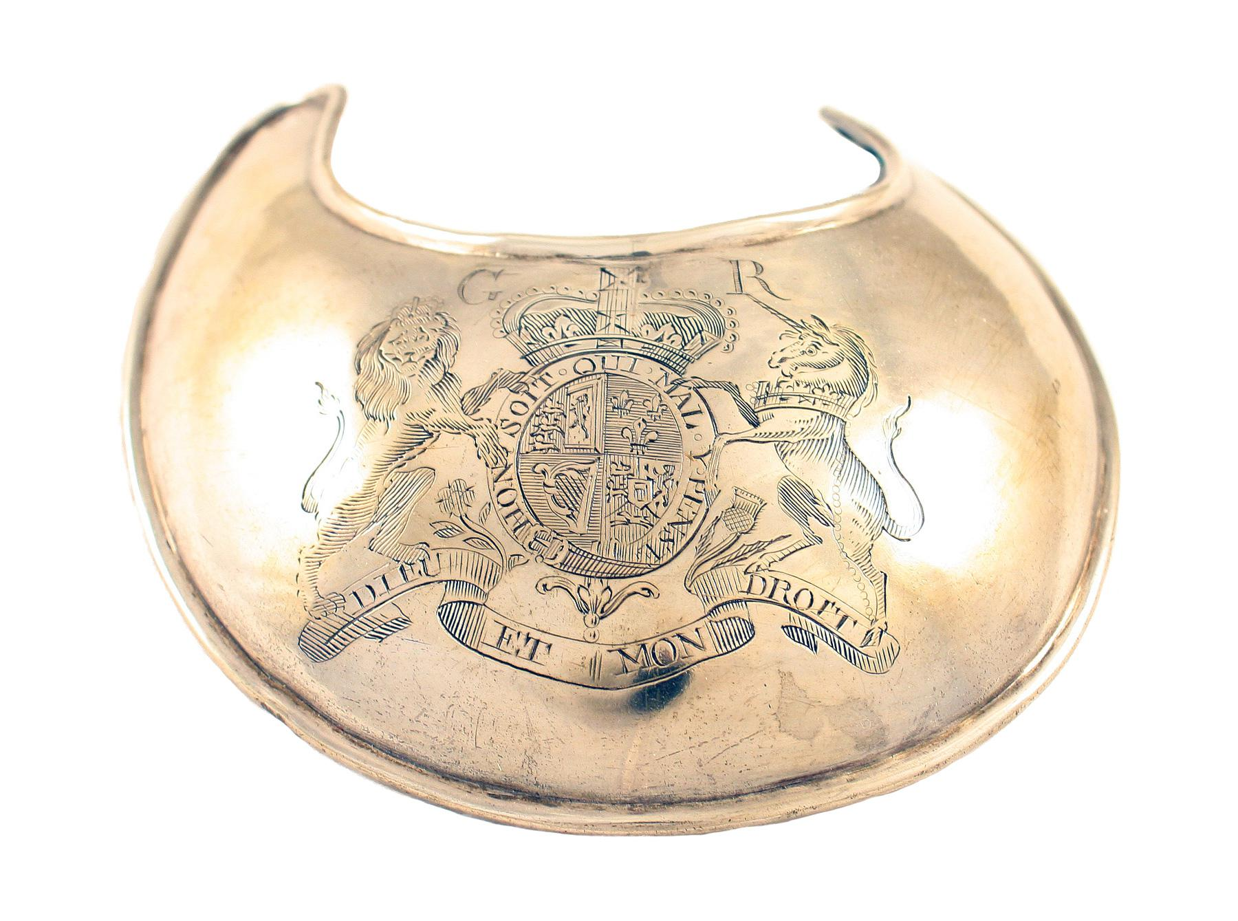 A Royal Marines Gorget