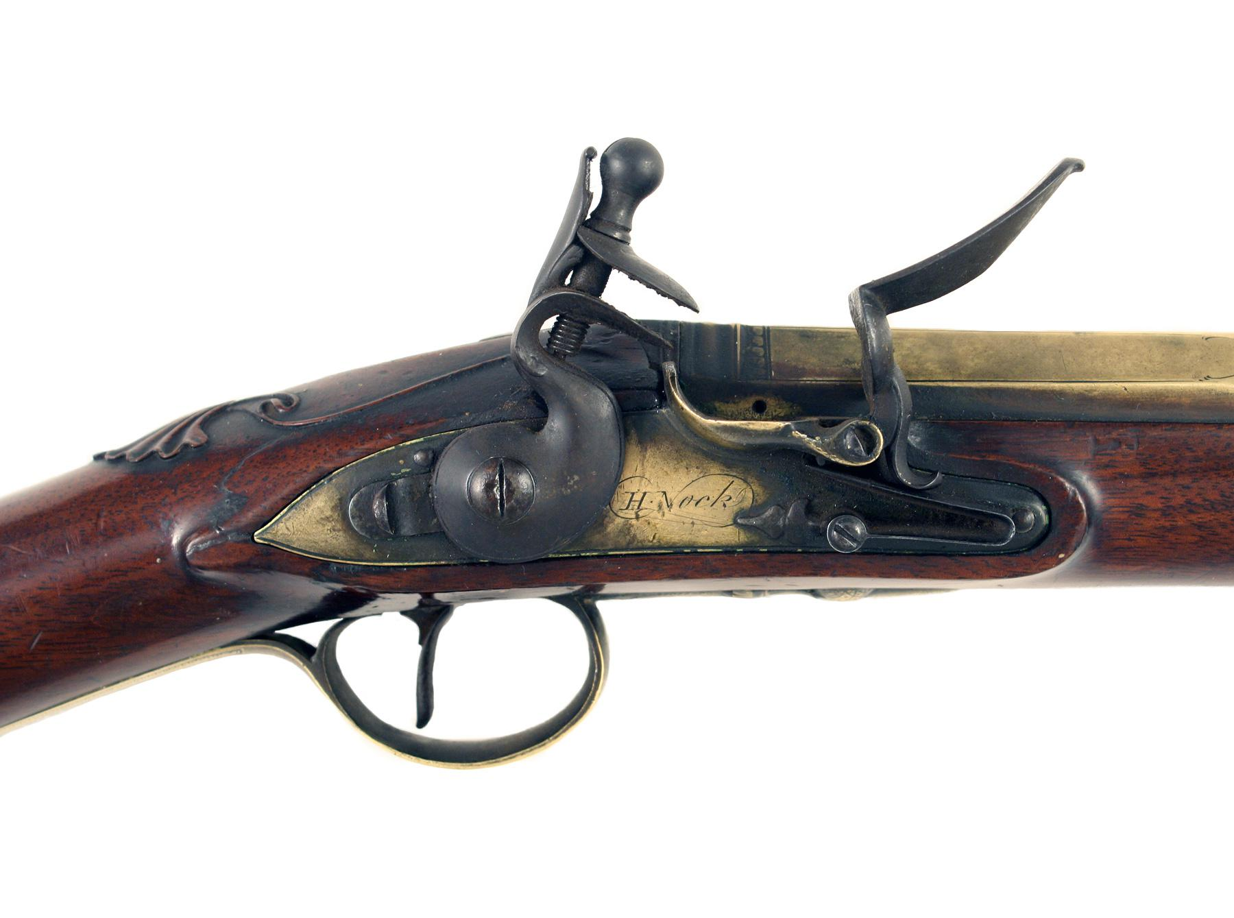 A Superb Flintlock Blunderbuss by H. Nock