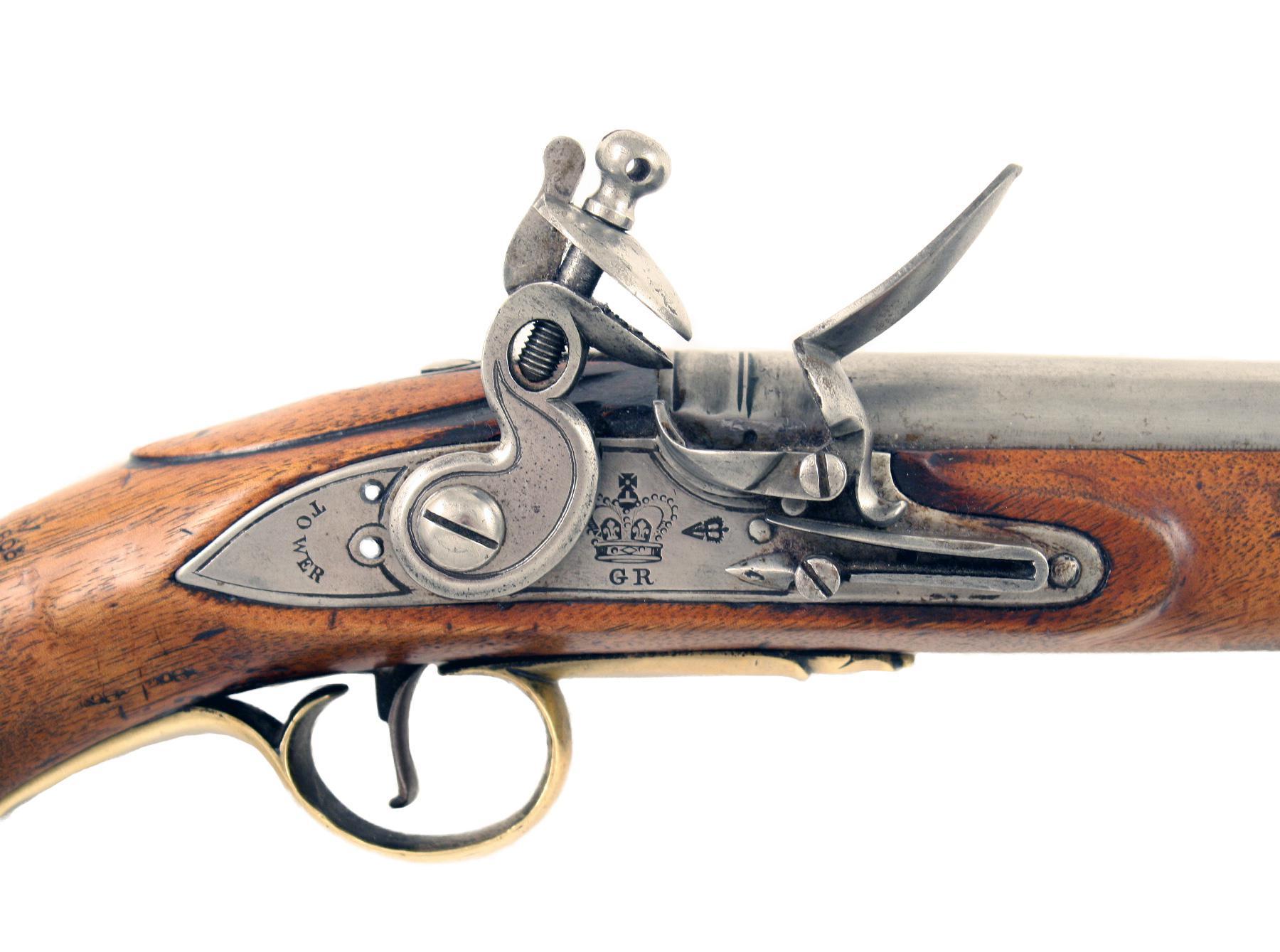 A Flintlock Sea Service Pistol