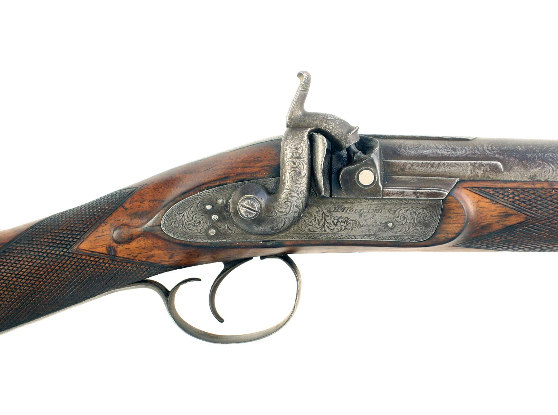 A 4-Bore Percussion Gun by H. Holland