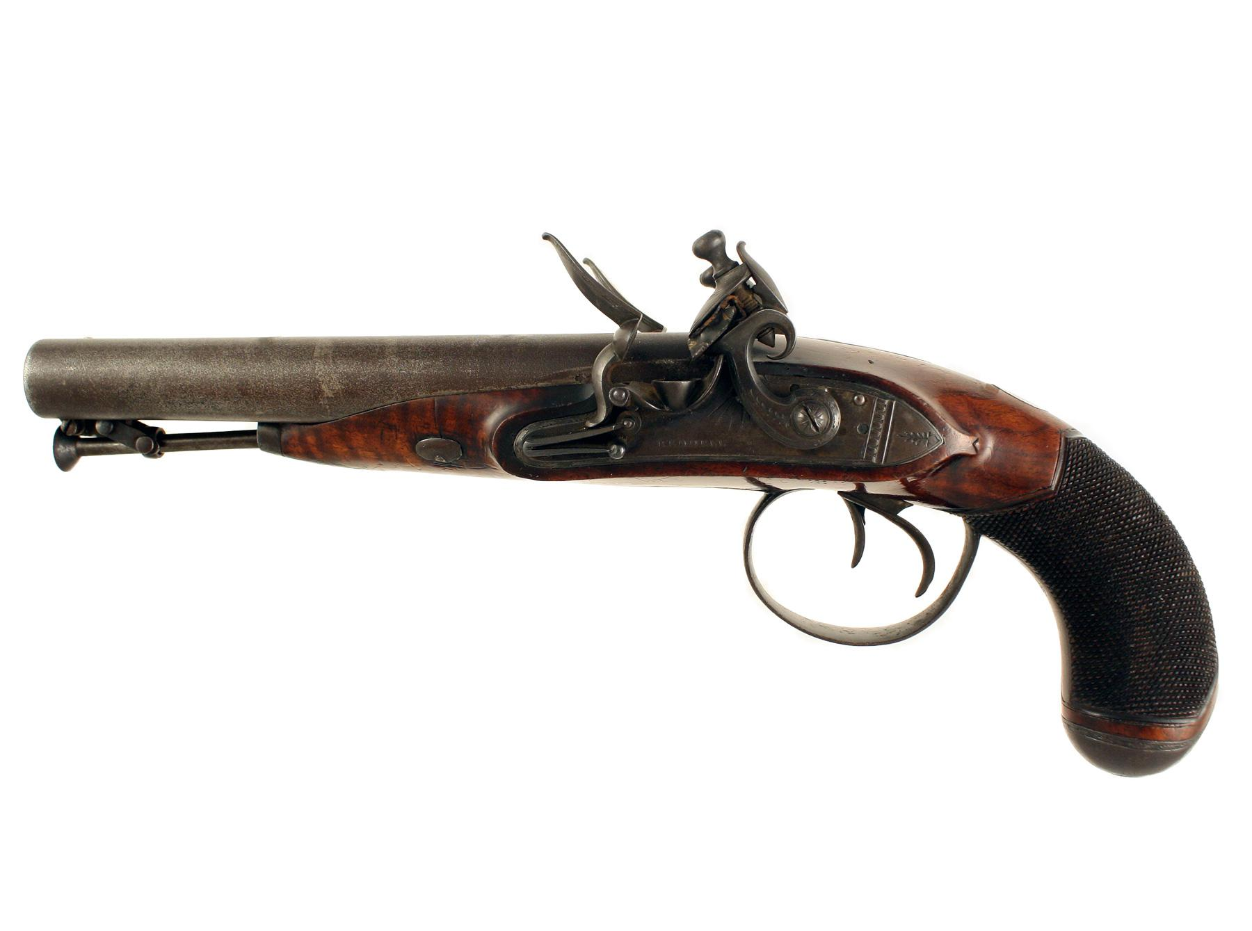 A Flintlock Carriage Pistol
